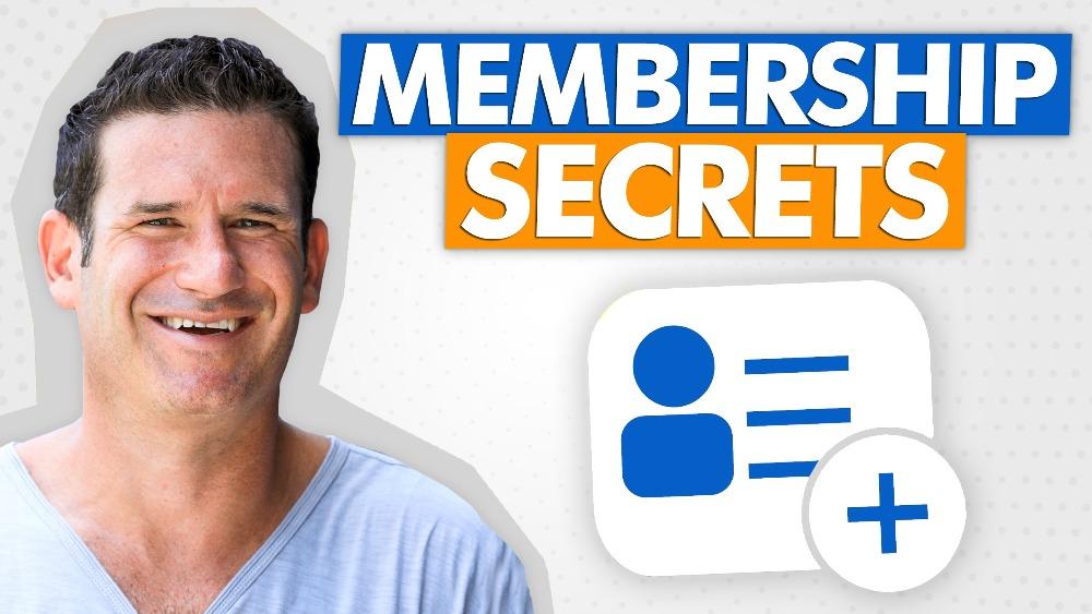 Membership Secrets With Stu McLaren
